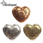 30MM 3pcs/lot Retro Zinc Alloy Sweet Heart Bronze <b>Decorative</b> Vintage Concho Buttons Charms For DIY <b>Jewellery</b> Accessories