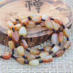 Natural stone hetian seed <b>makings</b> necklace <b>jewelry</b> men and women/2