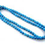 Tibetan <b>handmade</b> <b>jewelry</b> Tibetan 108 PCs stone Beads Buddhism Feng-Shui Prayer Long silver