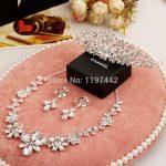 Aliexpress hot selling three-piece bridal <b>accessories</b> bridal <b>jewelry</b> sets <b>accessories</b> suit wedding dress crown tiara