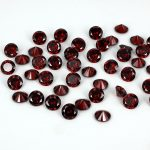 Siam Color Brilliant Cubic Zirconia Stones Round Shape Pointback Beads <b>Supplies</b> For <b>Jewelry</b> 3D Nails Art DIY Decorations 4-18mm