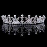 Full Zircon Tiara Copper Zircon Tiaras Micro Pave CZ Bride Crown <b>Wedding</b> Hair <b>Jewelry</b> Diadem Mariage Coroa