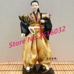 30cm Samurai Japanese humanoid Doll Restaurant <b>supplies</b> gift <b>jewelry</b> ornaments Home Furnishing Restaurant #3611