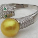 New natural round AAA 10-11mm south sea white pearl ring>>><b>silver</b> <b>earrings</b> for women Free shipping