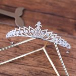 Vysor 2018 Cubic Zirconia <b>Wedding</b> Tiara <b>Jewelry</b> European Design Full Zircon Brides Bridal Crown Princess Clear CZ Coroa Coronet