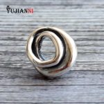 925 Sterling <b>Silver</b> The Infinite Spiral Charms Beads 5mm Hole Fits European DIY Brand Troll Bracelet & <b>Necklace</b> Jewelry