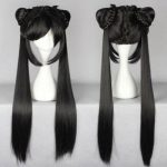 100% Brand New High Quality <b>Fashion</b> Picture wigs>>>Black Butler Kuroshitsuji CIEL long Phantomhive Ponytail Cosplay Anime Wig