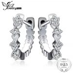 JewelryPalace Shining Cubic Zirconia Huggie Hoop Earrings 925 Sterling Silver Engagement <b>Jewelry</b> <b>Fashion</b> Charms Gift For Girls