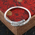 Beier 925 Sterling <b>Silver</b> <b>Bracelet</b> fashion Golden Hoops Fine Bangle <b>Bracelet</b> man and women Jewelry BR925SZ076