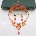 Fashionable Silver and Gold Wedding Bridal <b>Jewelry</b> Sets Girl/Women Party Crystal Wedding Bride <b>Jewelry</b> <b>Accessories</b> Necklace Sets
