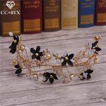 CC <b>Jewelry</b> Crowns Tiaras Handmade For Bridal Hair Accessories Hairbands Coroa Beads <b>Wedding</b> Decorations Jewellry Bride DIY 9386