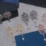 Designer Fashion 925 Sterling <b>Silver</b> Jewelry 3A Cubic Zirconia Party <b>Earring</b>