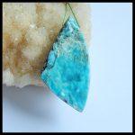 Natural Stone Drusy Hemimorphite Pendant 59x30x9mm 26.1g <b>Fashion</b> <b>Jewelry</b> Birthday Gift Accessories