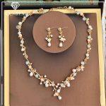 CC <b>Jewelry</b> necklace earring set <b>jewelry</b> sets stud earring wedding party <b>accessories</b> for women romantic luxury pearl brand TL201