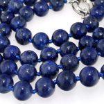 2017 (Min Order1) 6mm Natural lapis Beads Necklace Rope Chain Beads <b>Jewelry</b> <b>Making</b> Design Natural Stone (Minimum Order1)