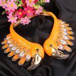 Bella Fashion Gorgeous Enamel Flamingo Bird Statement <b>Necklace</b> Austrian Crystal Animal <b>Necklace</b> For Women Party <b>Jewelry</b> Gift