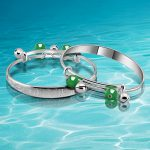 Free shipping!National wind style 925 sterling <b>silver</b> baby <b>bracelets</b> & bangles,Smart healthy Full moon baby gift