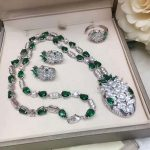 Luxury Brand Top quality <b>jewelry</b> set for women <b>necklace</b> earrings ring with AAA CZ snake party <b>jewelry</b>