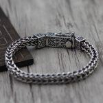 925 sterling silver <b>jewelry</b> <b>make</b> do old man character anchor bracelet grain Retro bracelet Thai silver