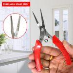 Stainless Steel Long Nose Pliers Crimping Plier <b>Jewelry</b> <b>Making</b> Hand Tool Diagonal Multifunction Pliers <b>Jewelry</b> DIY Tools