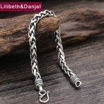 2017 New 925 Sterling <b>Silver</b> Friendship <b>Bracelet</b> Men Jewelry 6mm Wide Rope Bangle <b>Bracelet</b> Women Gift Fine Jewelry B15