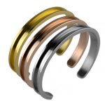 10 pieces/lot Bangles Hair Tie Bracelets Hand <b>jewelry</b> Nickle Free Gold Silver Color Black Rope Open Cuff Bracelet For Women