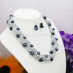 Special Offer <b>Accessories</b> Chain Glass Crystal Beads Necklaces&Earrings Sets Christmas Gifts Women Girls 18inch <b>Jewelry</b> Making