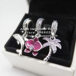 3pcs Fashion S925 Silver Dolphin Palm Trees Dangle Charms Beads <b>Jewelry</b> Set Fit DIY Bracelet Necklaces <b>Jewelry</b> <b>Making</b> Woman Gift