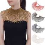 JEROLLIN 7 Color Big Chunky Statement Pendant <b>Handmade</b> Necklace Luxury Style Feather Collar Choker <b>Jewelry</b> For Women