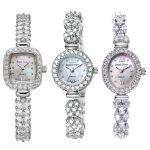 925 Sterling <b>Silver</b> Royal Crown Lady Women's Watch Japan Quartz Jewelry Hours Fine Clock Crystal <b>Bracelet</b> Luxury Girl Gift