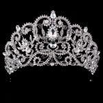 <b>Wedding</b> Tiara Crown Queen women Bridal hair accessories Headpiece Hair <b>Jewelry</b> Bride Accessories headband