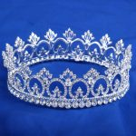 Clear Crystal Peacock Crowns , Bride Style Rhinestone Crown Tiara Bridal Hair <b>Jewelry</b> <b>Wedding</b> Hair Accessories HG072