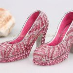 Miniature High Heel Women Shoe Trinket Girl Shoe Trinket Box Heels Shoes <b>Handmade</b> Jeweled Enameled Metal Trinket Box