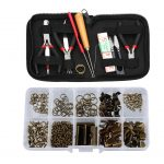 12pcs <b>Jewelry</b> <b>Making</b> Starter Kit Pliers Beading Tools Sets Findings Kit