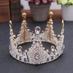 Luxury <b>Jewelry</b> Hair Accessories Bridal Crown Tiara <b>Handmade</b> Diadem Crystal Rhinestone Queen King tiaras royal Princess Headdress