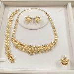 Custom Fashion African Beads <b>Jewelry</b> Set For Wome Nigerian Design Necklace Earring Wedding Dubai Zinc Alloy <b>Jewelry</b> <b>Accessories</b>