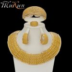 MuKun fashion African beads <b>jewelry</b> sets for women <b>wedding</b> Vintage Dubai gold jewellery sets luxury Italian <b>jewelry</b> designers