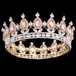 2017 Hot New Style Queen crown rhinestone hair ornaments <b>jewelry</b> European princess bride wedding headdress wedding hair <b>jewelry</b>