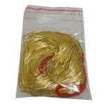 15 Gram 600 inches 1mm Diameter Golden Color Large Bag French Wire for Beading and <b>Jewelry</b> <b>Making</b> Sold By Bag