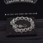 925 Sterling <b>Silver</b> Double Circyle Letters Retro Vintage <b>Bracelet</b> Men Women <b>Bracelet</b> Men