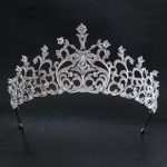 2018 New Design Full 5A CZ Cubic Zirconia Classic <b>Wedding</b> Bridal Silver Tiara Crown Women Girl Hair Accessories <b>Jewelry</b> S16433