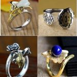 S925 sterling silver <b>jewelry</b> new male and female general <b>handmade</b> zircon open ring