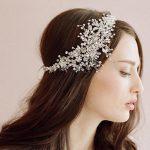 Luxury <b>Handmade</b> Wedding Tiara Headbands Flora Bridal Crystal Rhinestone Headpiece Women Bride Hair Accessories Head <b>Jewelry</b>