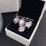4pcs Fashion S925 Silver Clover CZ Dangle Charms Beads <b>Jewelry</b> Set Fit DIY Bracelet Necklaces <b>Jewelry</b> <b>Making</b> Woman Gift