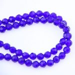 Home Decoration Crystal 32 Faceted Ball Beads Dark Sapphire 4mm K9 Glass Loose Spacer Bead For <b>Jewelry</b> <b>Making</b> Home Decoration