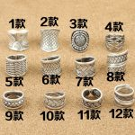 S925 wholesale silver <b>jewelry</b> imported from Thailand folk style retro twist rattan <b>Handmade</b> Silver Men opening ring
