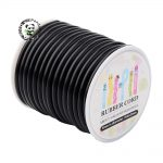 5mm (10m/roll) Silicone Thread Cord for <b>Jewelry</b> <b>Making</b> DIY Accessories, Wrapped Around White Plastic Spool, 5mm (10m/roll)