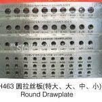 <b>Jewelry</b> <b>Making</b> Tools Round Shape Tungsten Carbide Drawplate Hole Size 0.26-2.80mm