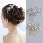 Jonnafe Stunning Crystal Wedding Hair Comb Accessories Gold Silver Bridal Headpiece <b>Handmade</b> Women Hair <b>Jewelry</b> Combs