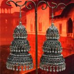 Limited India <b>Jewelry</b> Original Three Heavy Earrings Tribes <b>Making</b> Exaggerated Earrings Thailand Miao Silver Morocco